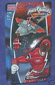 Mega Bloks   Power Rangers SPD   Red Ranger   Sky Defense   5760