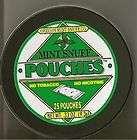 Mint Snuff POUCHES Tobacco Free Chew MINT Flavor