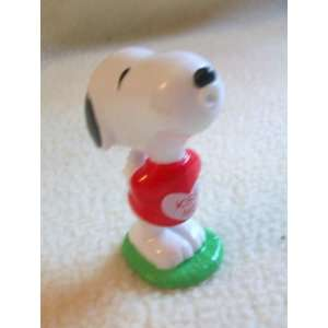 3 Snoopy Kiss Me Figure Doll Toy Vintage: Toys & Games