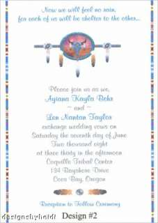 Native American Wedding Invitations Supplies Favors