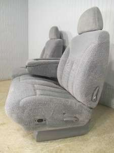 CHEVY SILVERADO GMC SIERRA SUBURBAN TAHOE FRONT GRAY 60/40 TRUCK SEAT