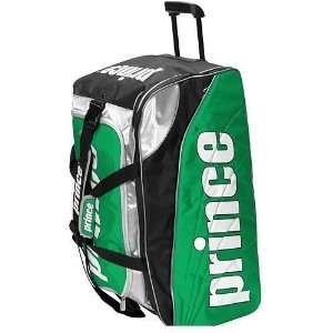 Prince Tour Team Duffle Tennis Bag (Green/Silver/Black