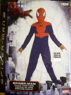 Marvel Spider Man 3 Red & Blue Child Costume Size 7 8