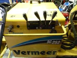 2005 VERMEER MODEL SC252 HYDRAULIC SELF PROPELLED STUMP GRINDER