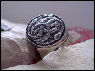 NEVERENDING STORY AURYN RING SURGICAL STEEL (D11)