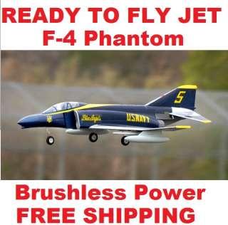 RC JET PLANE Phantom F4 Blue Angel RTF