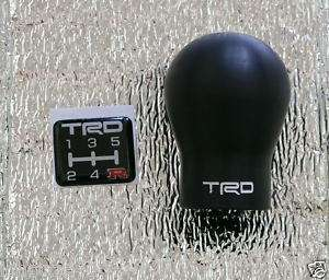 Black Gear Shift Knob TOYOTA Vigo Hilux SR5 Manual Transmission M/T MT