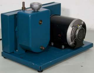 Marvac Scientific A 10 Belt Driven Rotary Vane Vacuum Pump