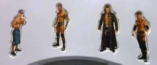 WWE WRESTLING BELT WALL CLOCK WATCH MAGNET GIFT SET RAW