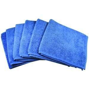 Ultra Absorbent Microfiber Cleaning Cloths (6 Pack) Home